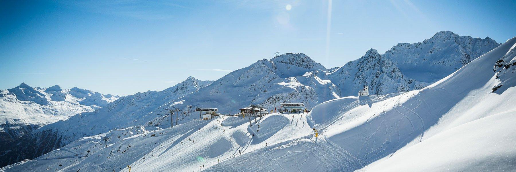 Skigebiet am Giggijoch